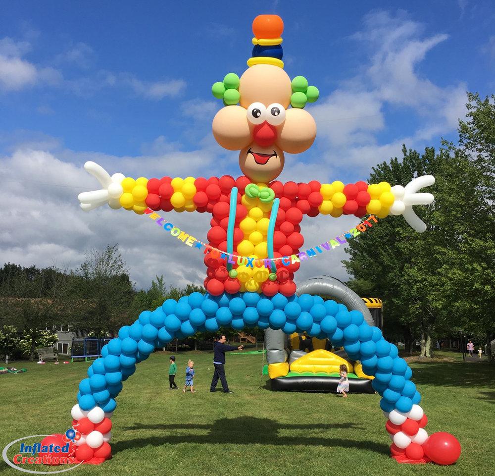 Clown Arch - Carnival