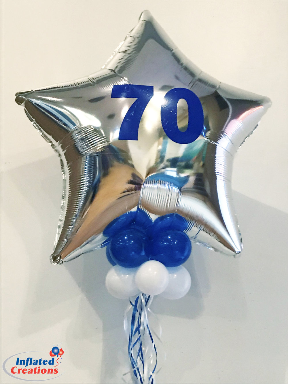 70 Number Balloon