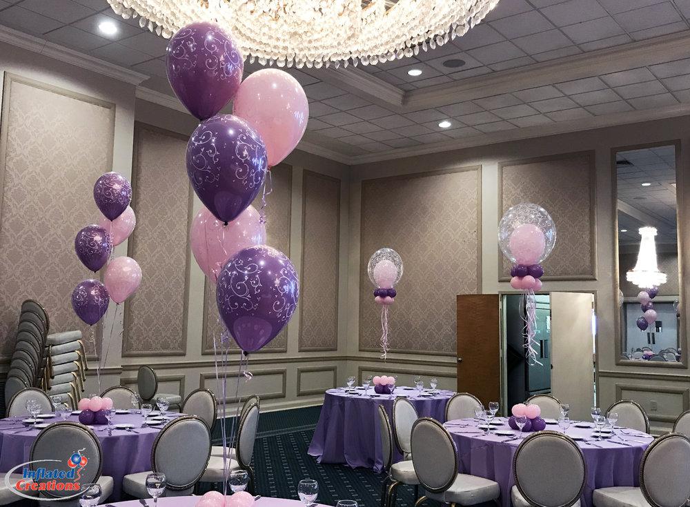 Simchat Bat Balloons