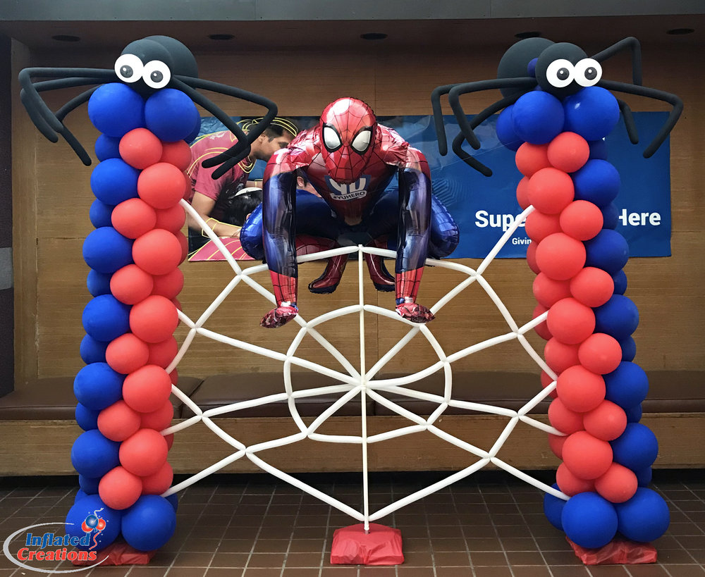 Character - Spiderman on Web