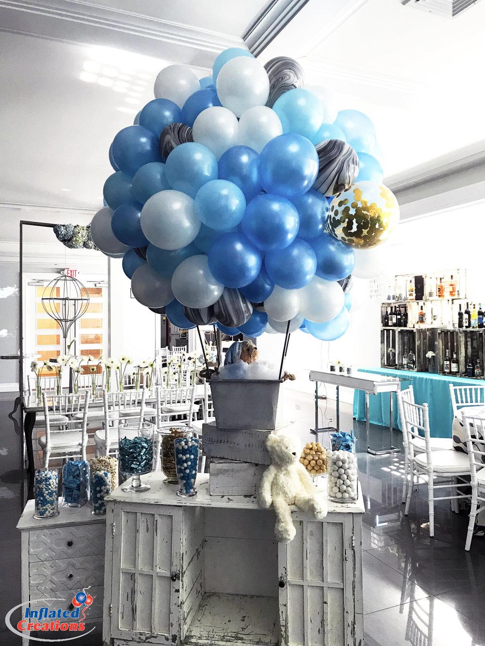 Baby Boy Hot Air Balloon Party