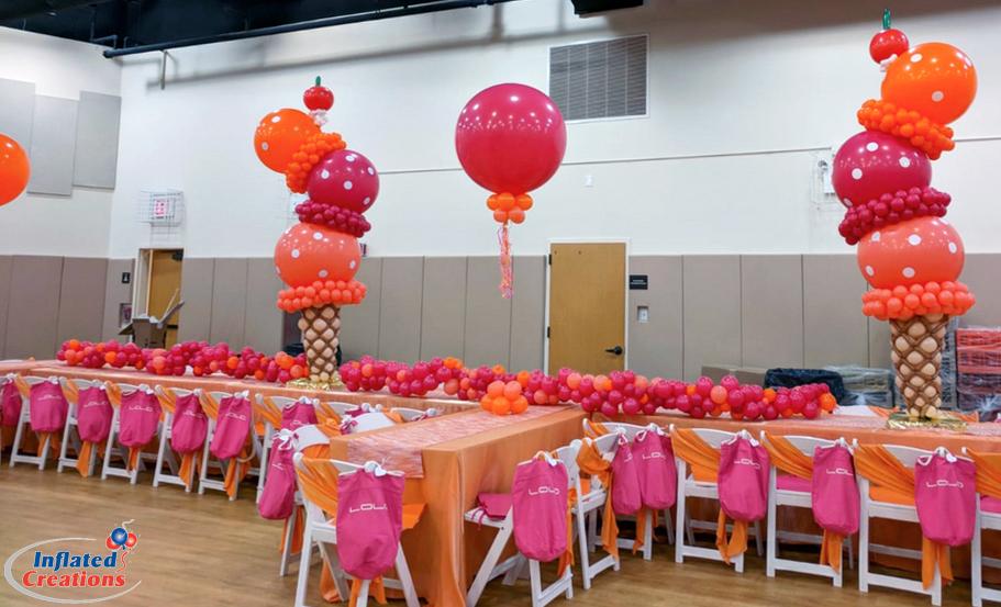 Dessert Pink & Orange Party