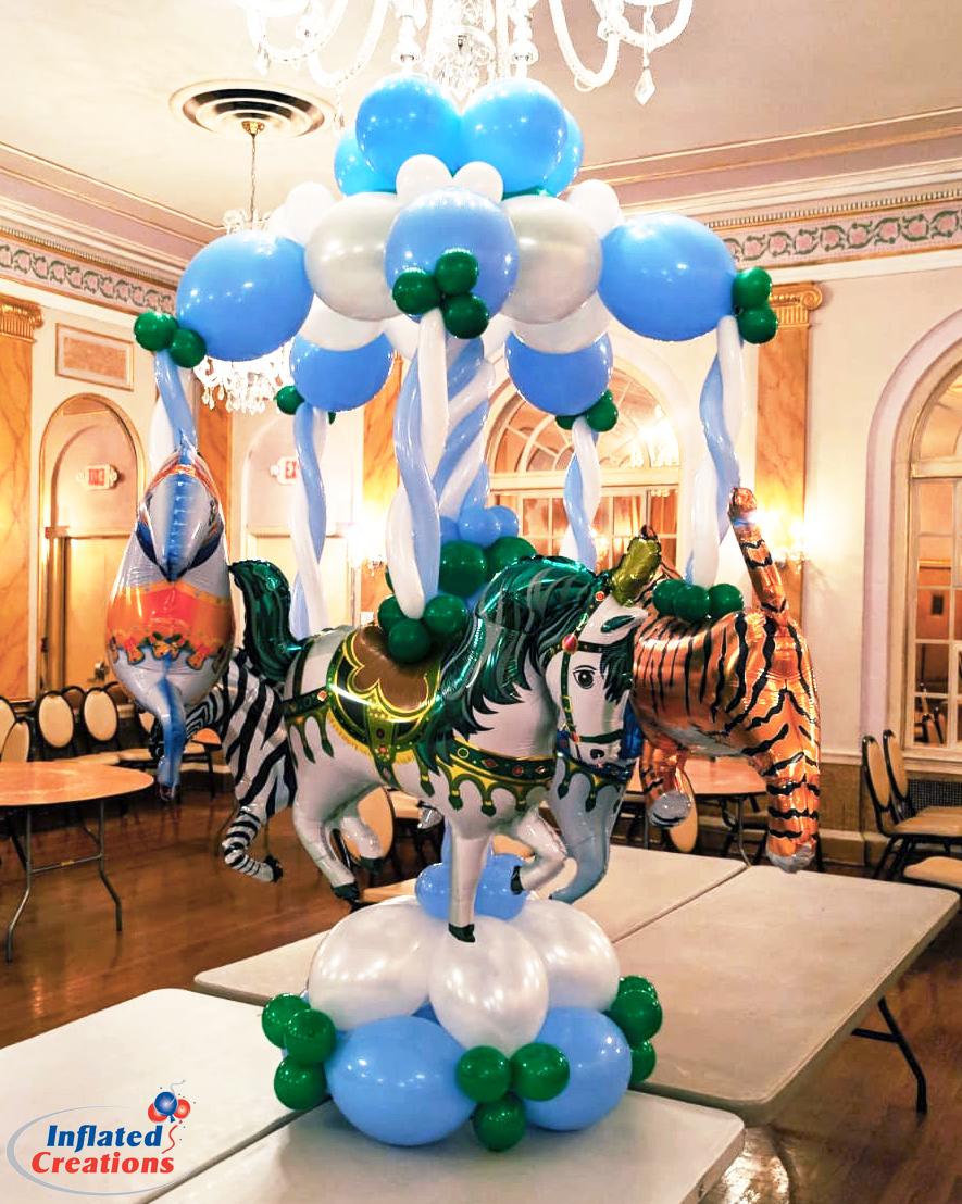 Carousel Horse Balloon Centerpiece