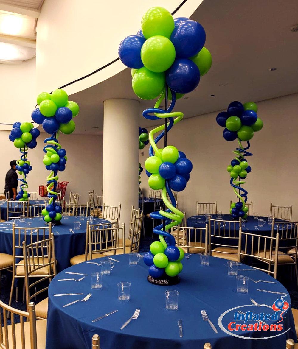 Puffball Twist Balloon Table Column