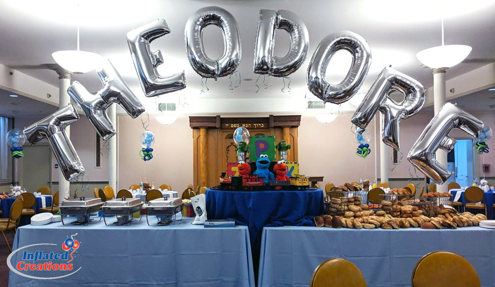 Theodore Name Balloon Arch