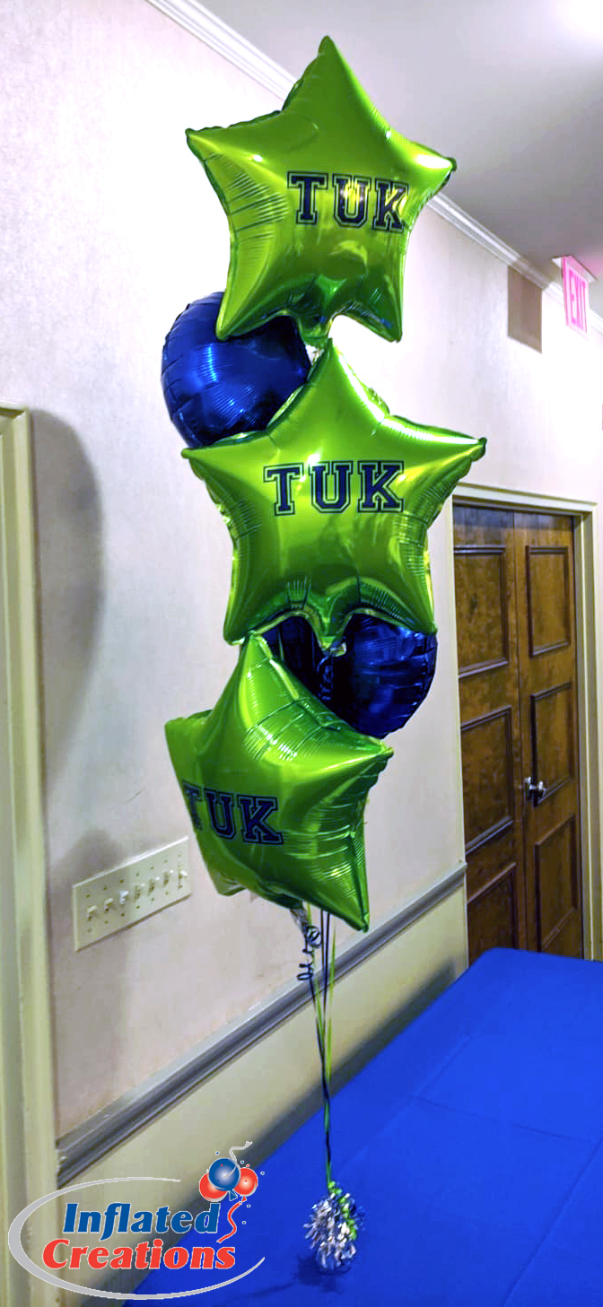 Birthday Initial Balloons