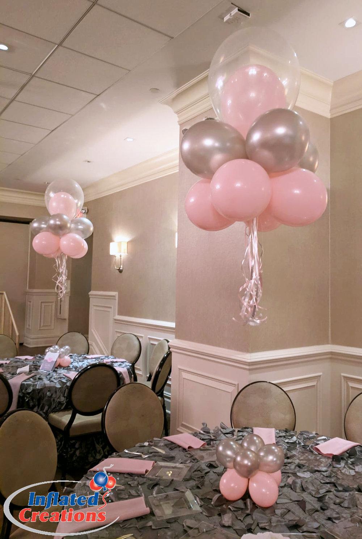 Cloud Nine - Pink & Gray