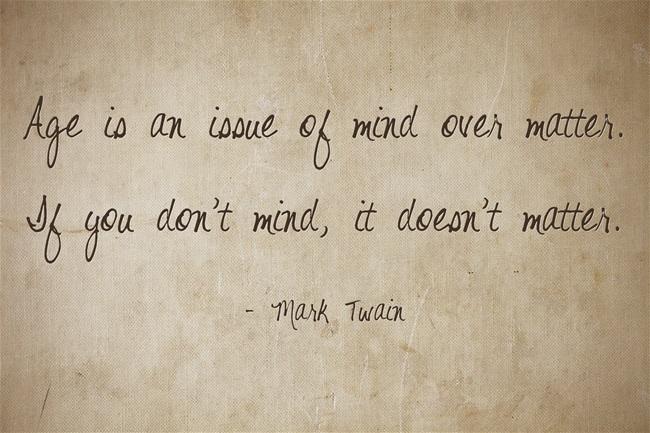 Mark Twain - Age
