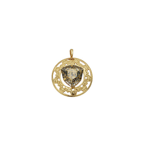 Arcadia gold disc pendant balyck jewellery arcadia gold disc pendant aloadofball Gallery