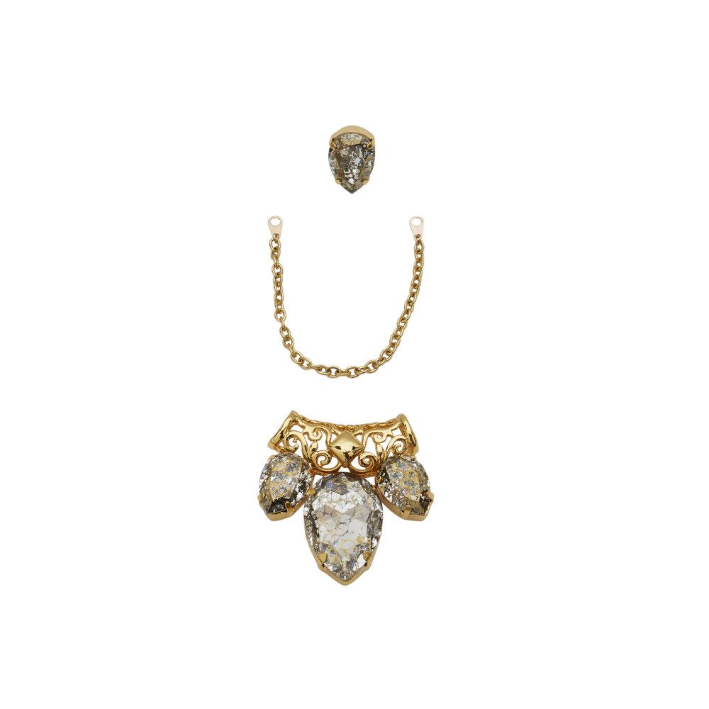 Mirvana Gold Earring — BALYCK JEWELLERY