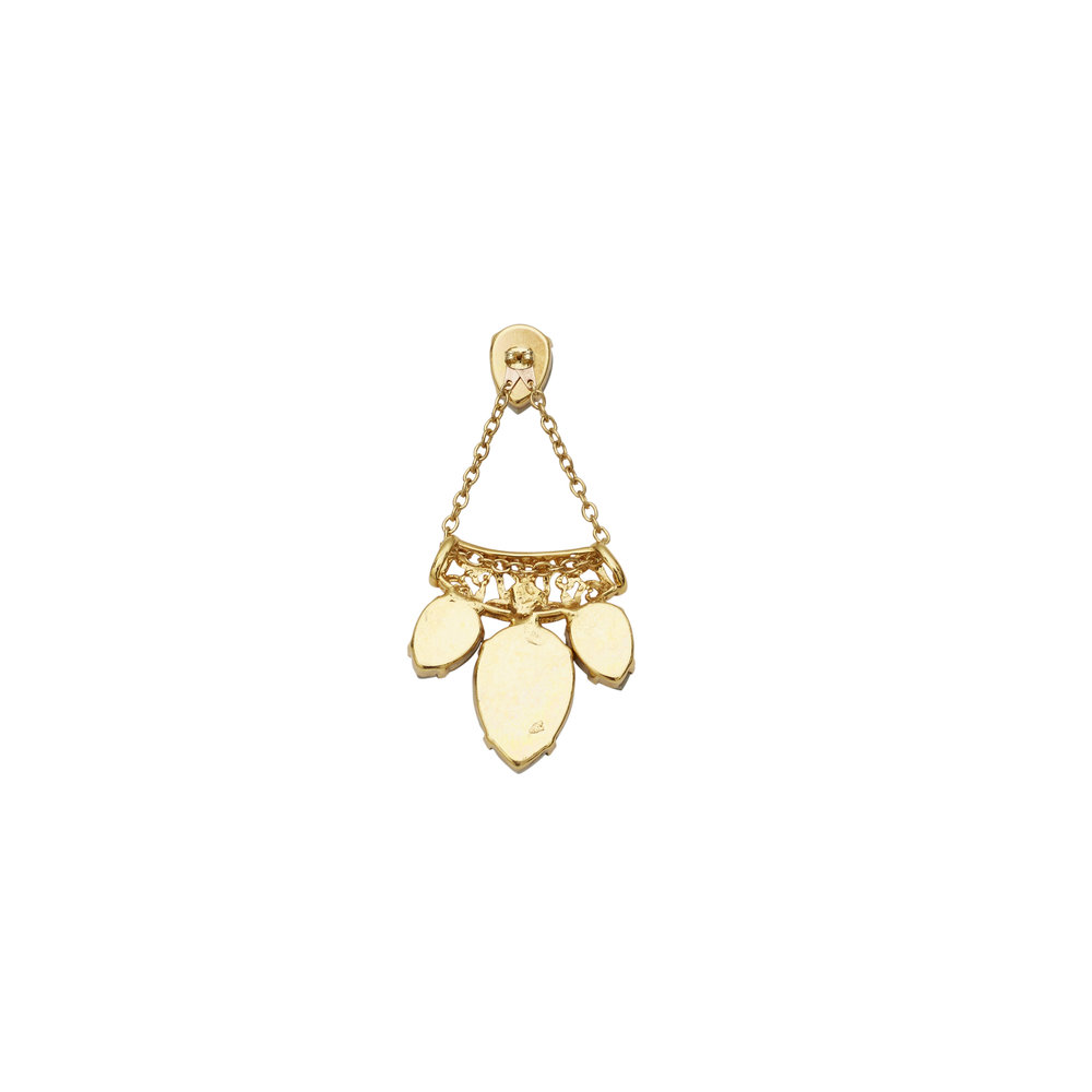 Mirvana Gold Earring — BALYCK JEWELLERY