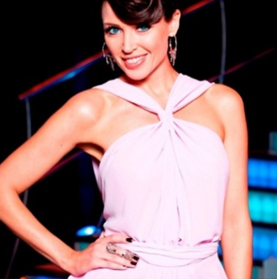 Balyck Jewellery pieces worn by Dannii Minogue from Australia's Got Talent Semifinal 7. The 'finger-bling' is a silver 'cage' ring by Balyck Jewellery.
