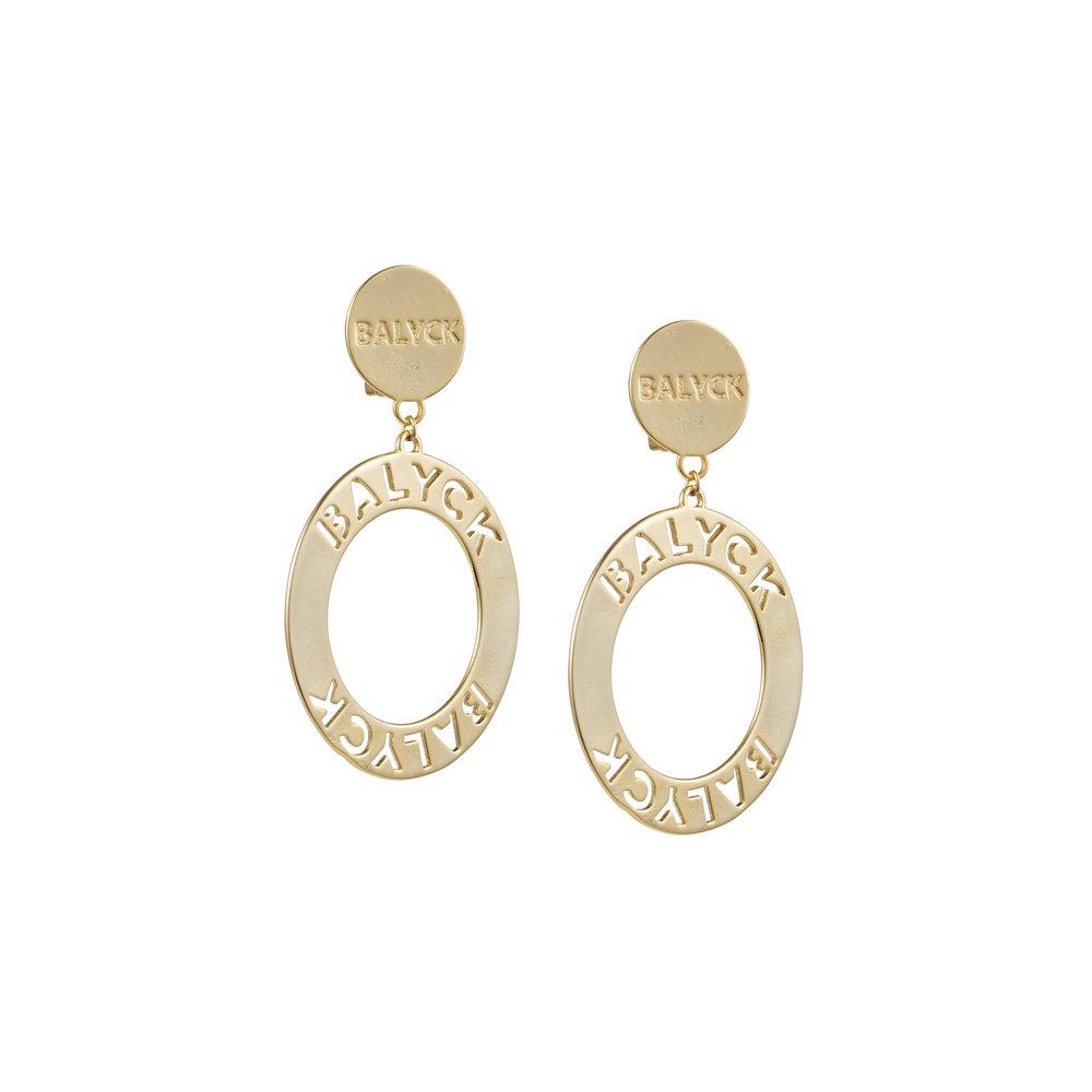 balyck logo earrings - $290.00 AUD