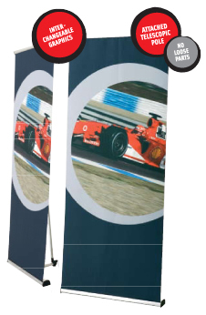 Outdoor Roll-Up Banners