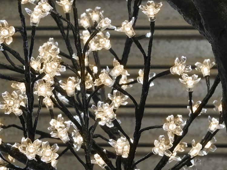Blossom, Warm White LEDs with Black Trunk