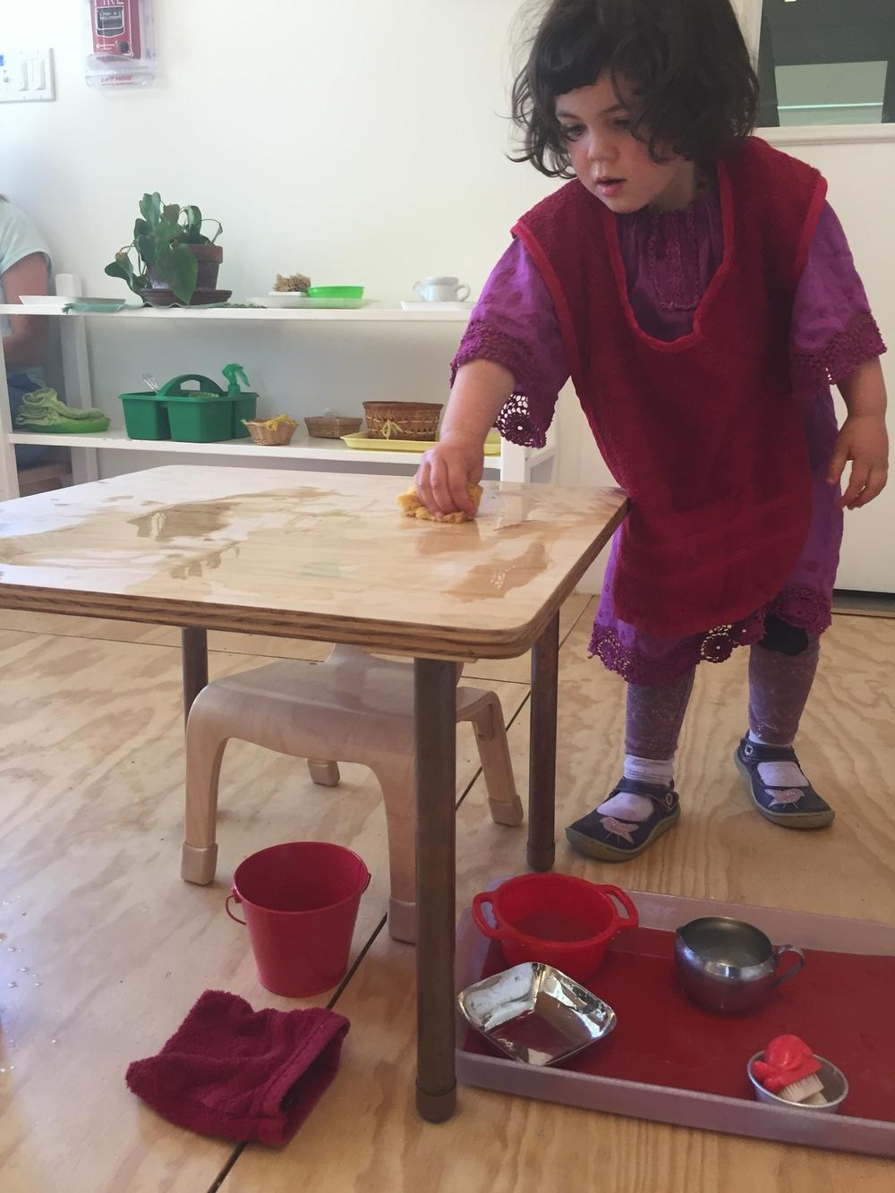 aria scrubbnig table.JPG