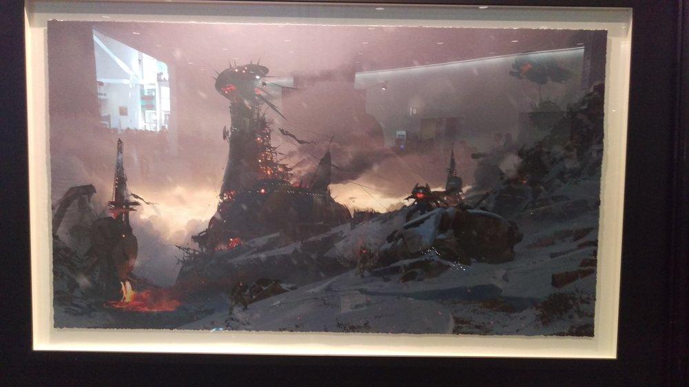 Plaguelands art from Destiny.