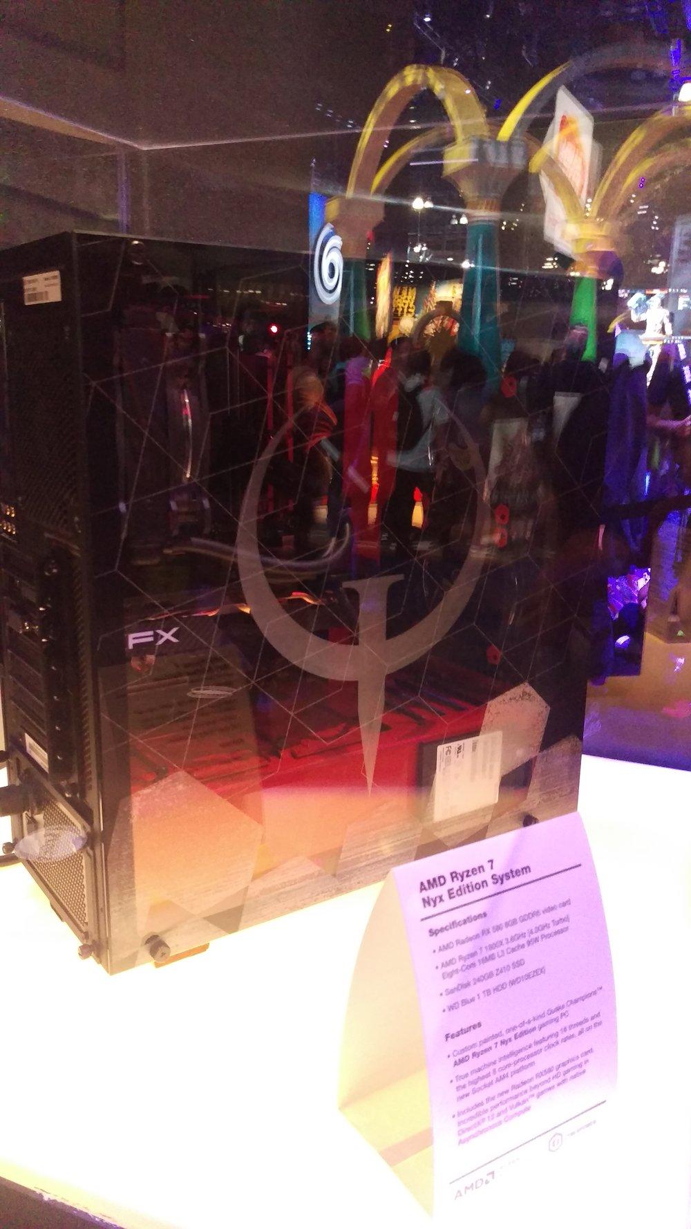 Quake Champions case mod.