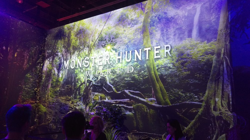 Big Monster Hunter presence this year at e3. I should check out the hype.