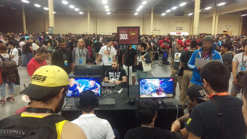Street Fighter V pool contestants.