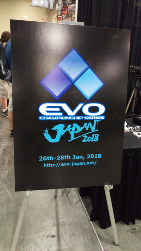 I don't know if its inaugural but EVO is expanding and that's good for gaming.