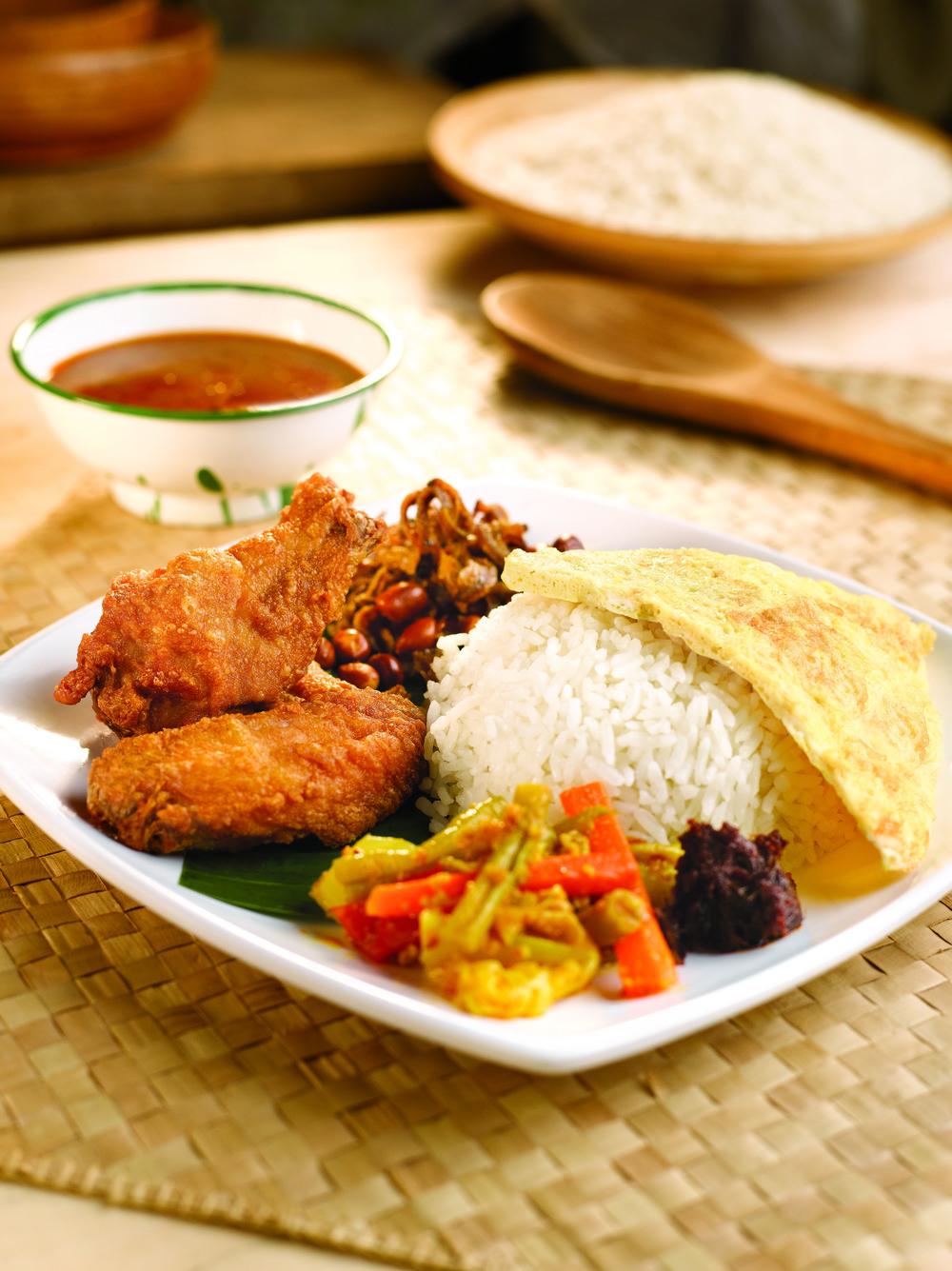 Nasi Lemak with Belacan Chicken Wings.jpg