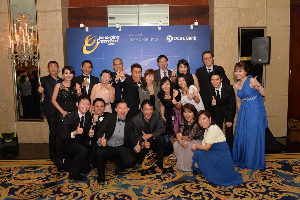 Emerging Enterprise 2015 Award Gala at Shangri-la Hotel Singapore