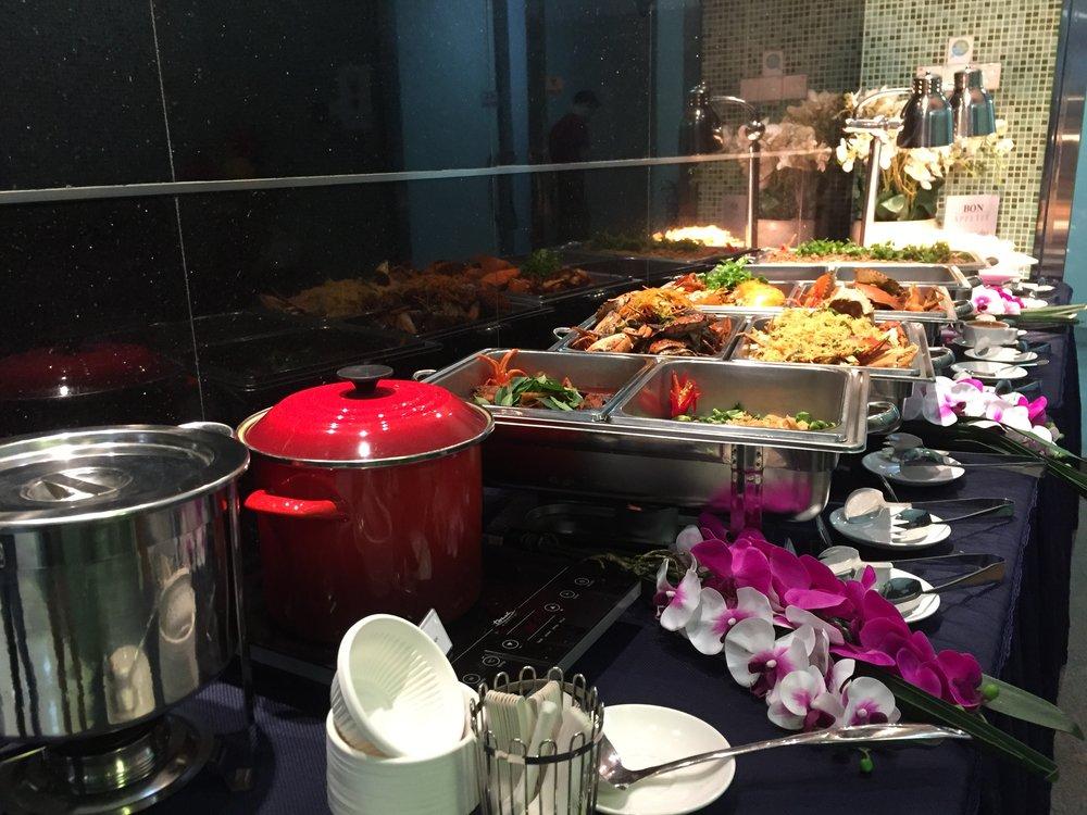 Crab Buffet Set-up