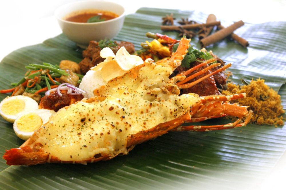Lobster Nasi Ambeng