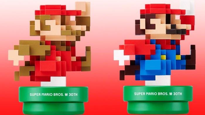 New 8-Bit Mario Amiibos
