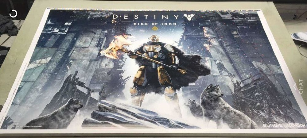 The leaked artwork for the next Destiny expansion