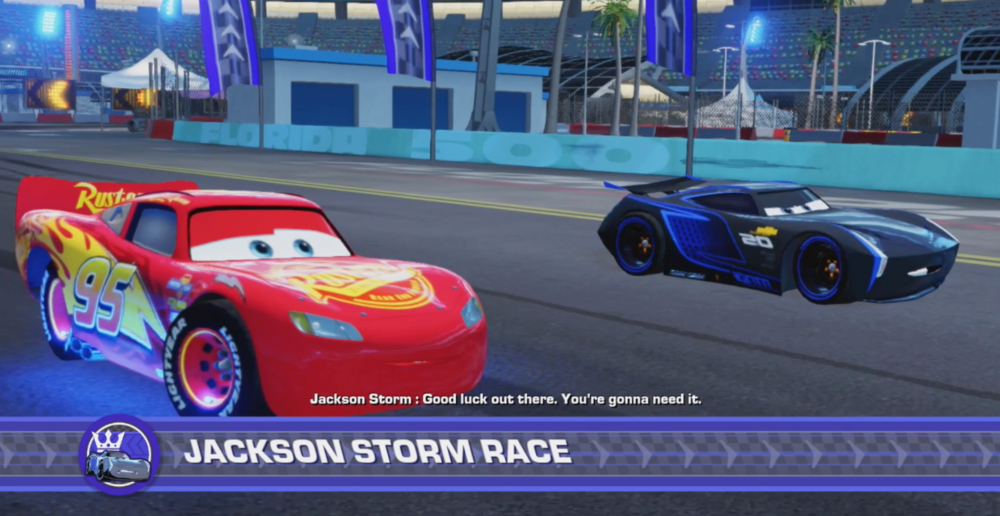 Cars 3: Driven to Win (Switch) - Lightning McQueen vs Jackson Storm ...