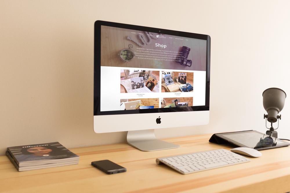 Time Capsule Studio Website