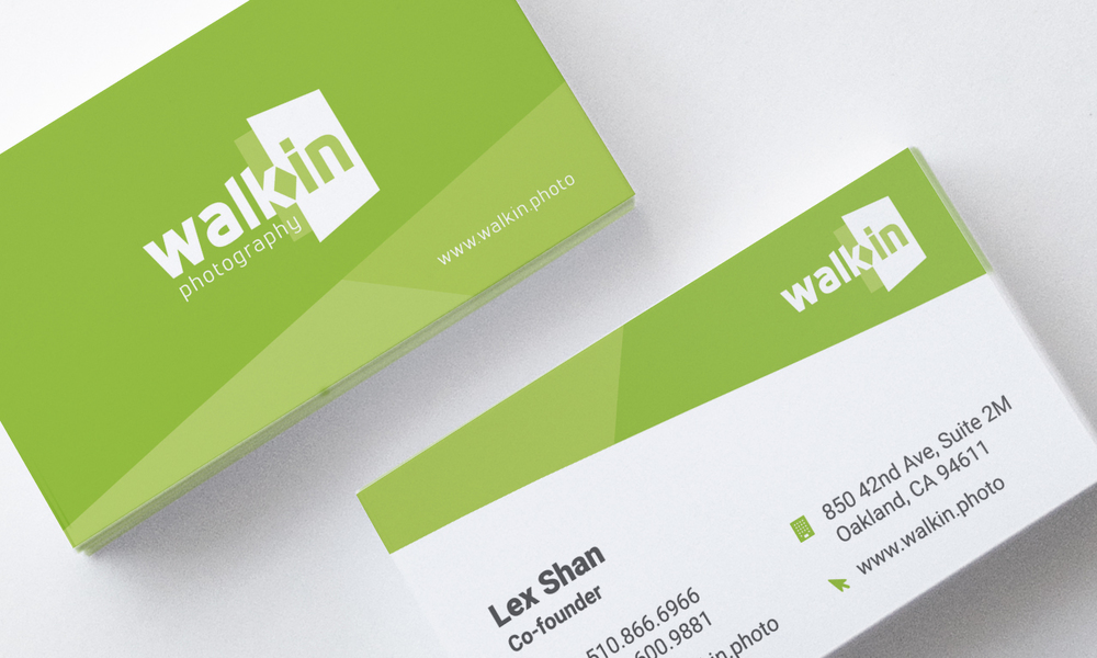 Walkin Business Cards Design