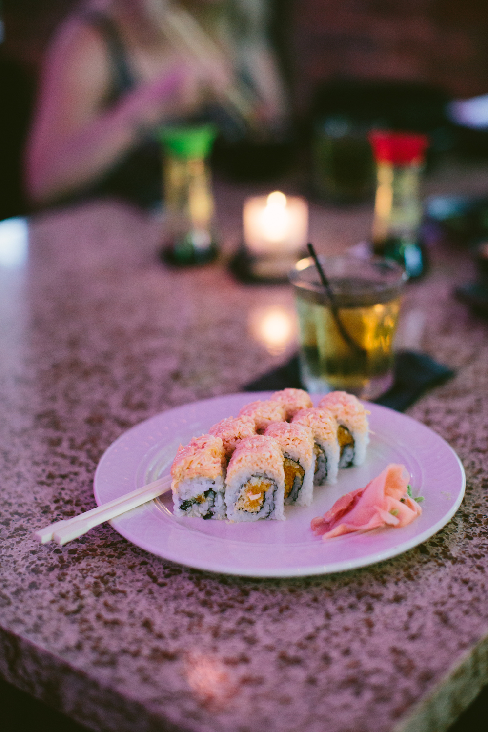AshevilleFolk - Greenville, South Carolina City Guide: Murasaki Sushi.