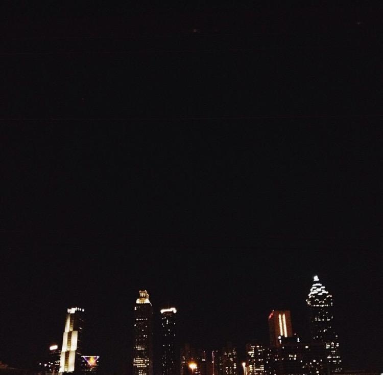 AshevilleFolk.com | Summer City Guide: Atlanta Georgia with Samantha Cole. Jackson Street Bridge has one of the greatest views of the Atlanta skyline.
