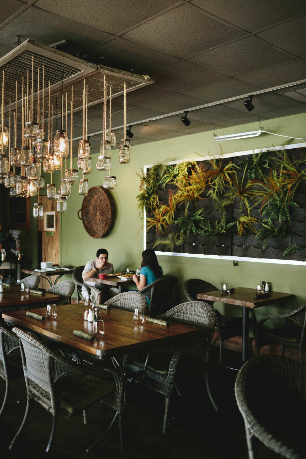 AshevilleFolk Summer City Guide: Charlotte NC with Megan Gielow. Fern. Fresh vegetarian goodness. Fabulous lunch/dinner/brunch. We bike over on Sundays and share the Cinnamon Rolls and Patatas Bravas.