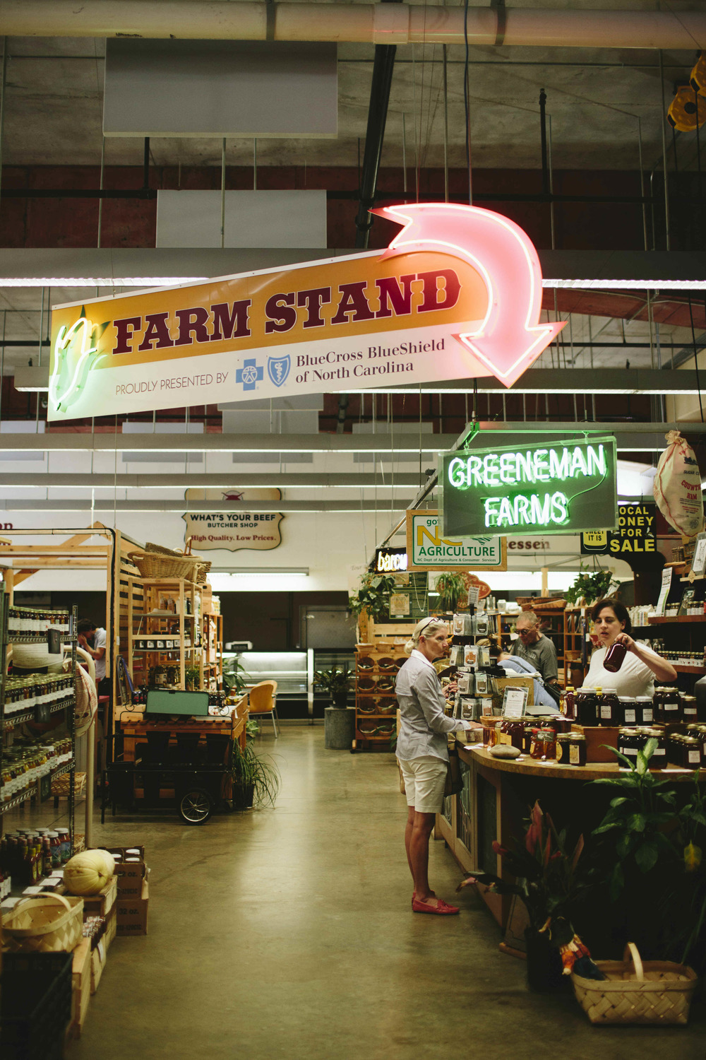 AshevilleFolk Summer City Guide: Charlotte, NC with Megan Gielow. 7th Street Public Market. Always busy, always good. Home to many small eateries and markets.