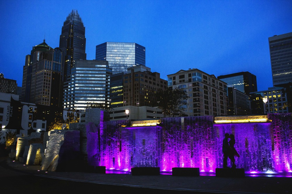 AshevilleFolk Summer City Guide. Charlotte NC with Megan Gielow. Romare Bearden Park.