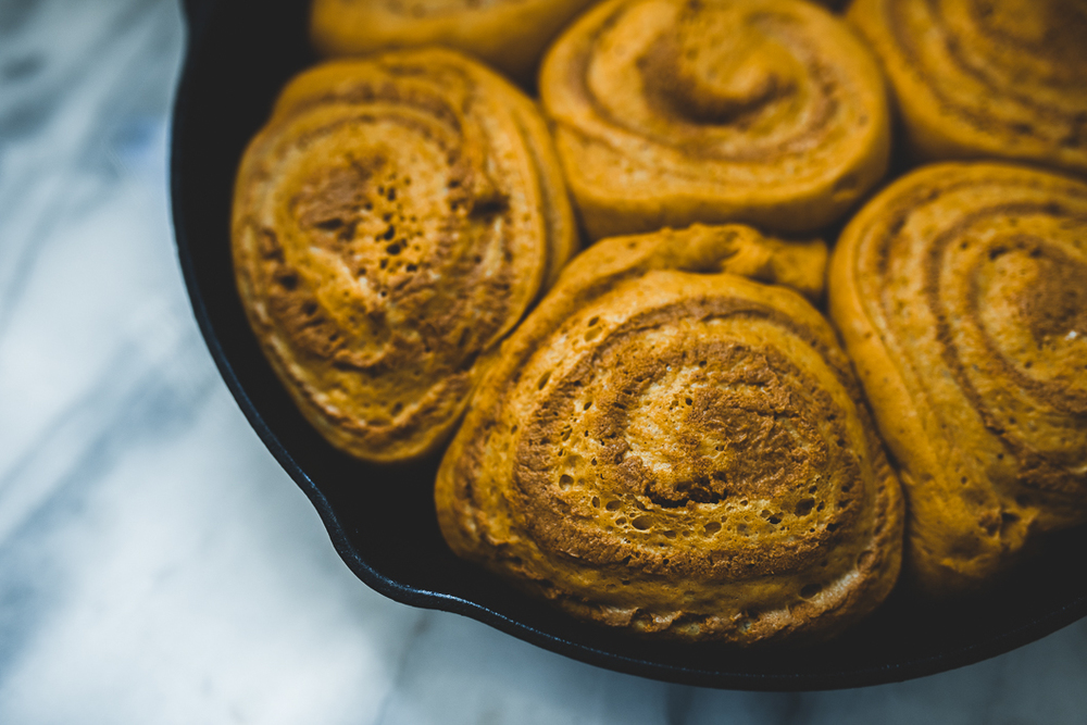 Asheville Folk Pumpkin Rolls Recipe with Formations of Mental Objects