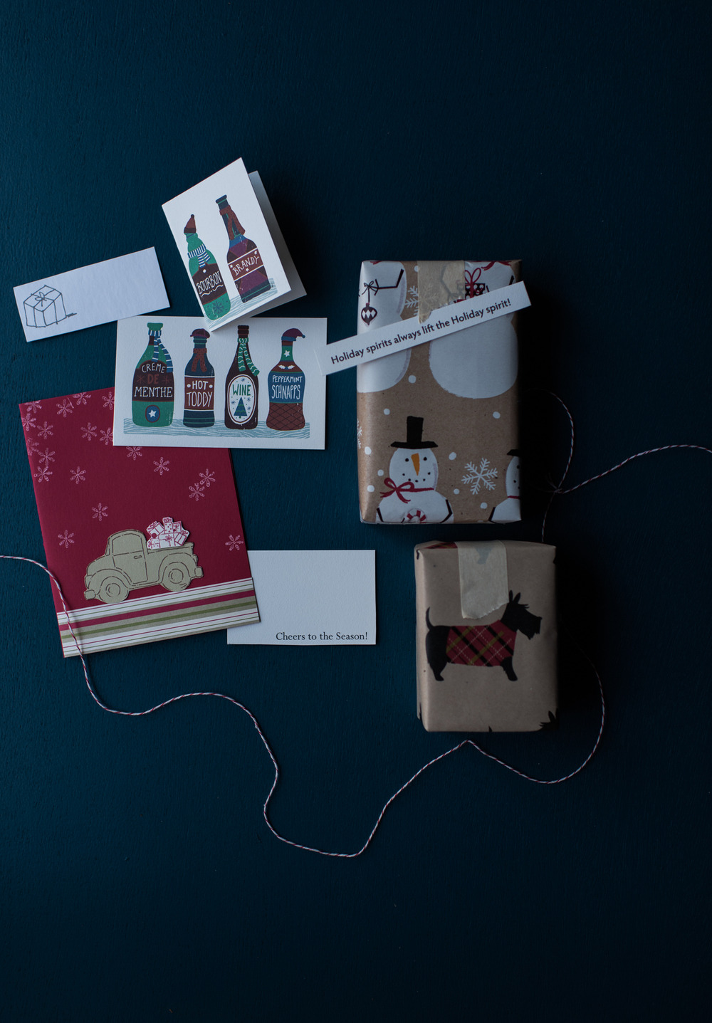 Asheville Folk: A Thrifty Christmas by Chelsea Lane. Does anyone else do this? Or just my mom? Holiday cards from the ghosts of Christmas past turned into gift tags for the Christmas present.