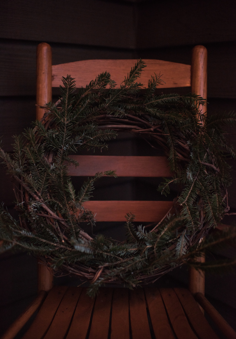 Asheville Folk: A Thrifty Christmas by Chelsea Lane: Gather scraps from the tree lot (my favorite freebie) to create a swag or wreath. Find yourself a grapevine wreath form to make it easier!