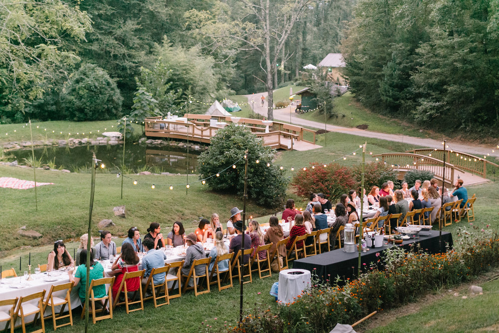 Photo by Sadie Culberson from our dinner gathering at Fall Break Co.