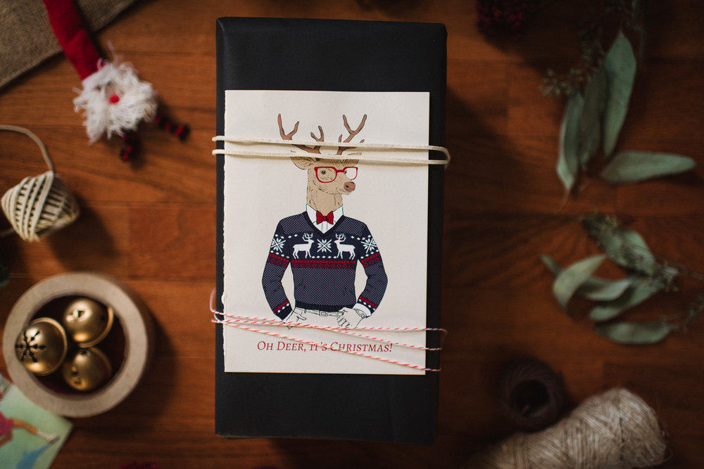 When wrapping for so many different personalities, I love to have these options!  A Few Favorite Gift Wrap Ideas by Chelsea Lane