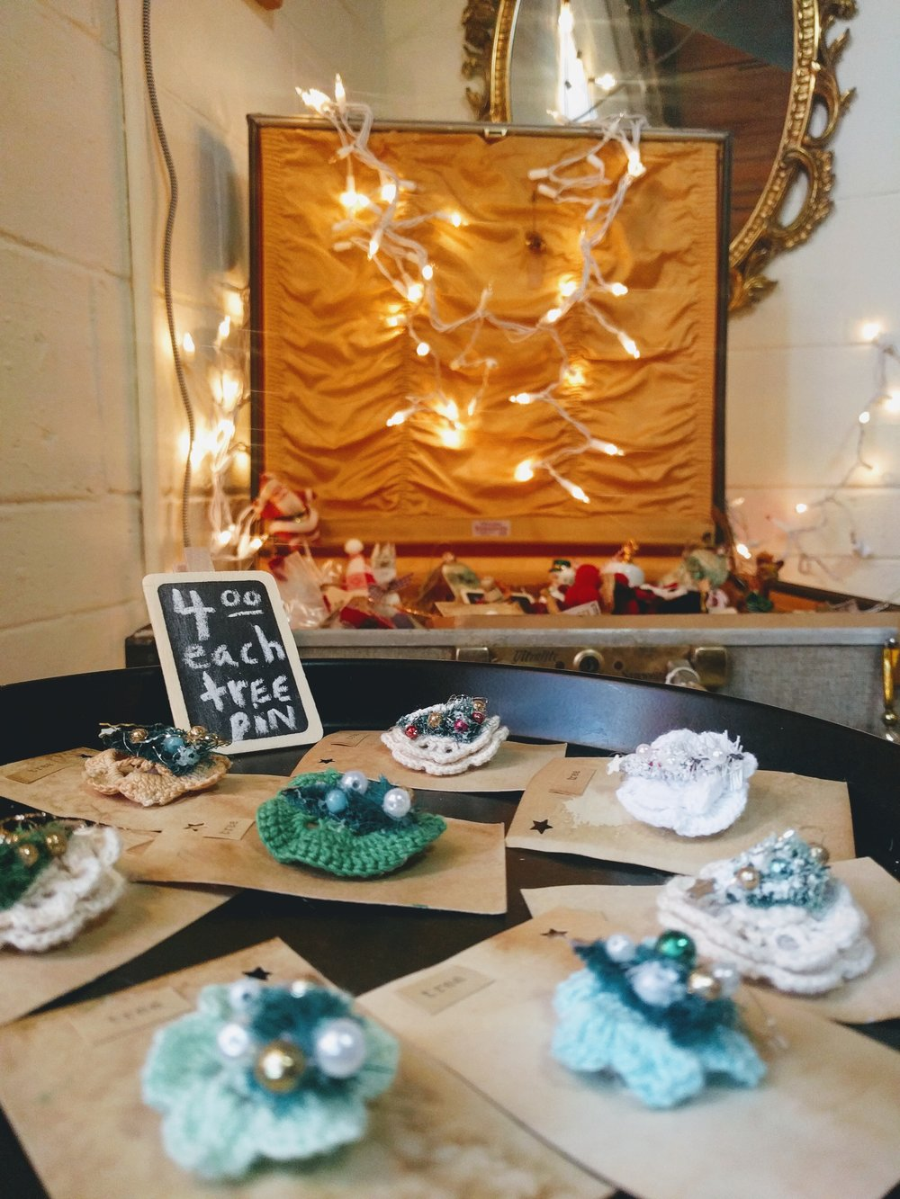 A collection of carefully arranged, minute details amount to a stylish and playful space that invites you to browse, taste, test, and buy. The East/West Holiday Pop Up Shop by Emma Castleberry