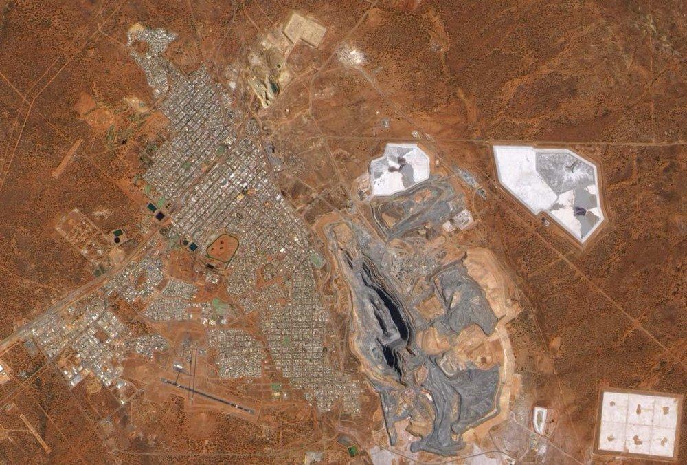 The Super Pit in 2010, NASA