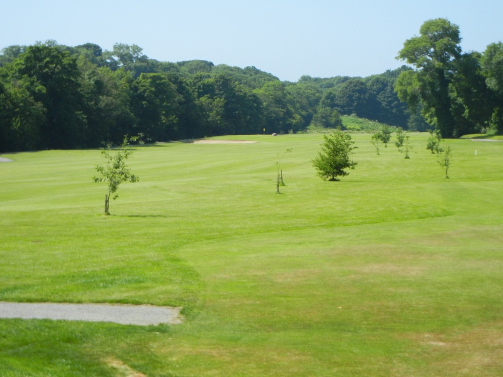 View of the Par 3 1st Hole