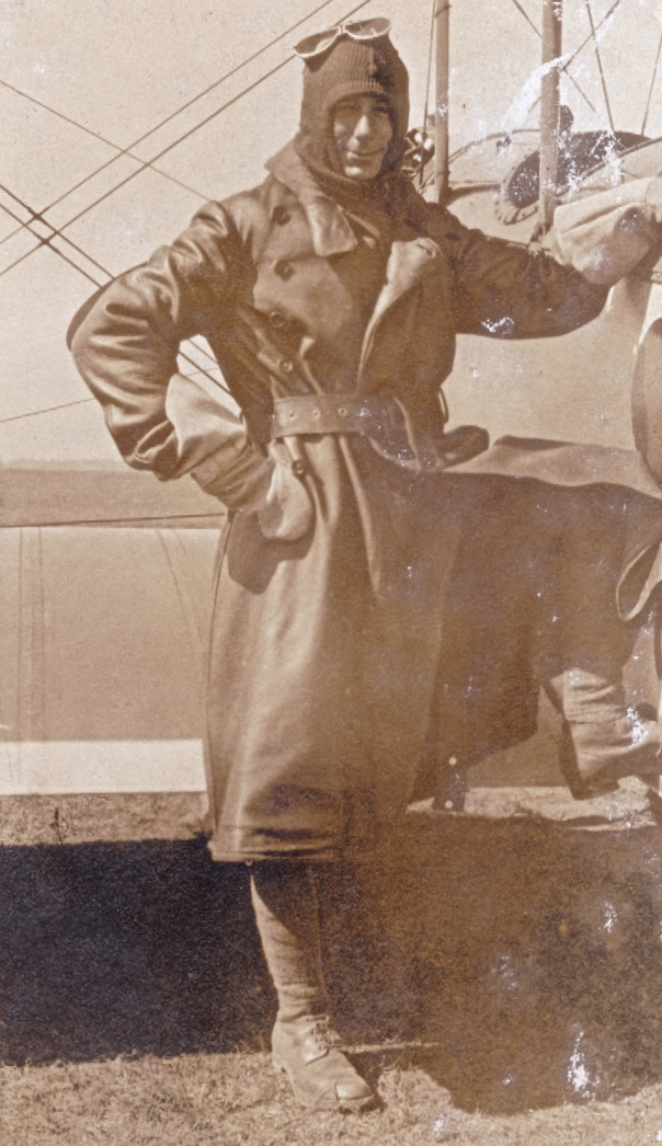 Monty joined the royal flying corp in July 1917.