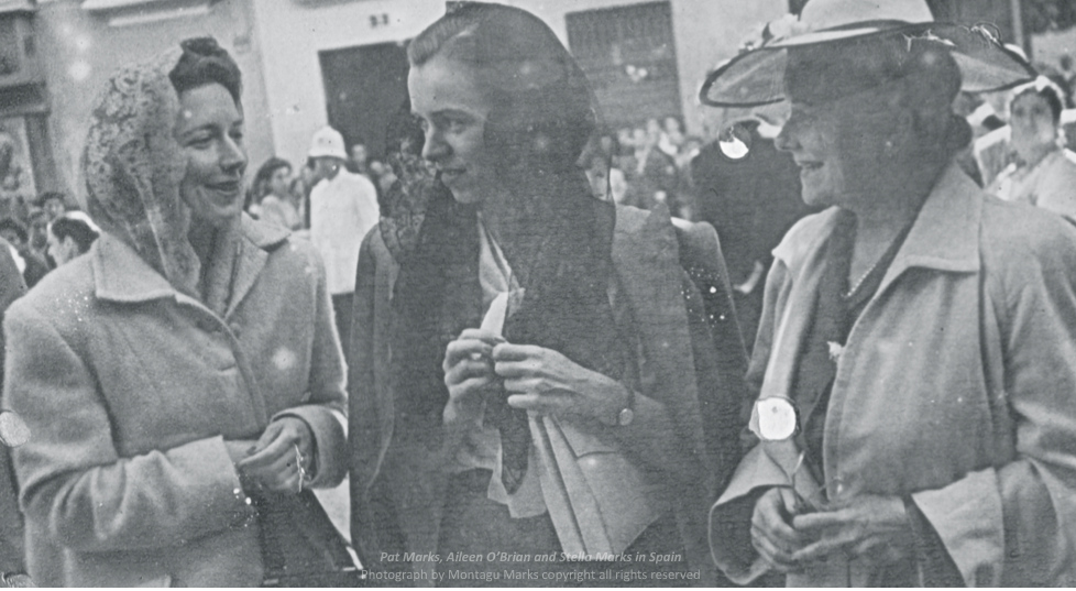 Pat & Stella with Aileen O'brian in spain. Photo by monty