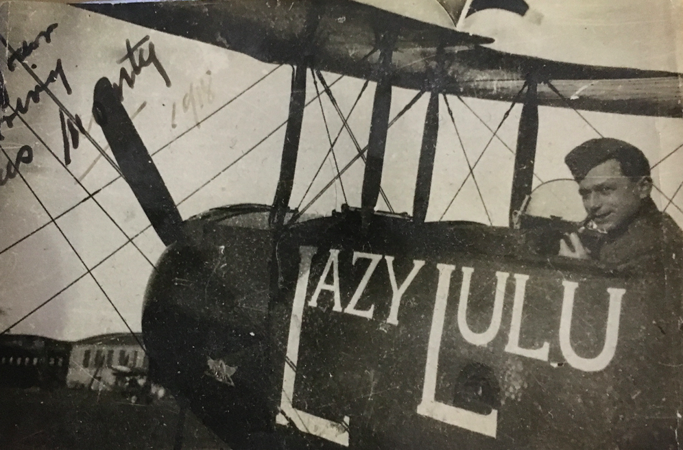 Monty Marks' plane was named 'lazy lulu', after Stella Marks's nick name 'lulu'. The adjective 'lazy' was a joke. since stella was the opposite of lazy.